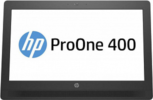 "Моноблок HP ProOne 400 G2 20"" HD+ Touch i5 6500T (2.5)/4Gb/500Gb 7.2k/HDG530/DVDRW/Windows 10 Professional 64/Eth/WiFi/BT/90W/клавиатура/мышь/Cam/черный/серебристый 1600x900"