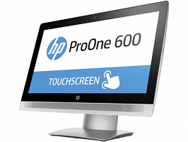 "Моноблок HP ProOne 600 G2 21.5"" IPS Touch i5 6500 (3.3)/32Gb/500Gb 7.2k/HDG530/DVDRW/Windows 10 Professional 64/GbitEth/WiFi/BT/клавиатура/мышь/черный"