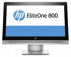 "Моноблок HP EliteOne 800 G2 23"" Full HD Touch i5 6500 (3.2)/8Gb/1Tb/HDG530/DVDRW/Windows 10 Professional 64/GbitEth/WiFi/BT/клавиатура/мышь/Cam/черный/серебристый 1920x1080"
