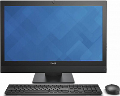 "Моноблок Dell Optiplex 7440 23.8"" UHD i5 6500 (3.2)/8Gb/SSD256Gb/HDG530/DVDRW/Windows 7 Professional 64 +W10Pro/GbitEth/WiFi/BT/Cam/черный 3840x2160"