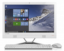 "Моноблок Lenovo 300-23ISU 23"" Full HD i5 6200U/8Gb/1Tb 7.2k/SSHD8Gb/GT920A 2Gb/DVDRW/Windows 10/WiFi/клавиатура/мышь/Cam/белый 1920x1080"